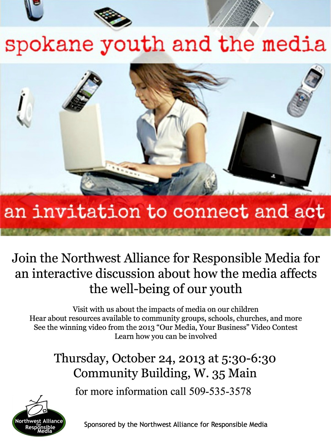Spokane Youth and the Media - An Invitation to Connect and Act
